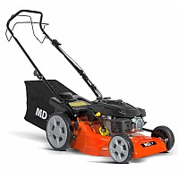 "MD 51SP 21"" Self-Propelled Petrol Lawn Mower With Free Jerry Can"