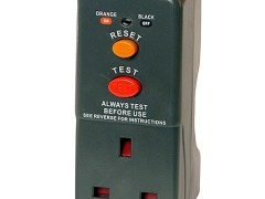 RCD Mains Safety Adaptor