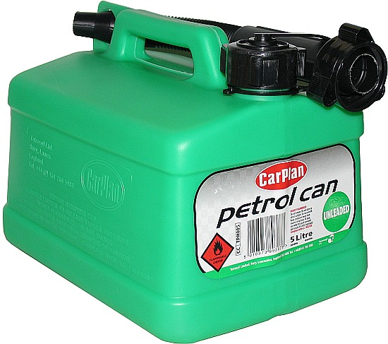 Carplan Petrol Can - Unleaded Green