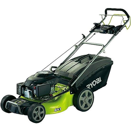 Ryobi Rlm5319smeb 53cm Petrol Lawn Mower With 190cc Subaru
