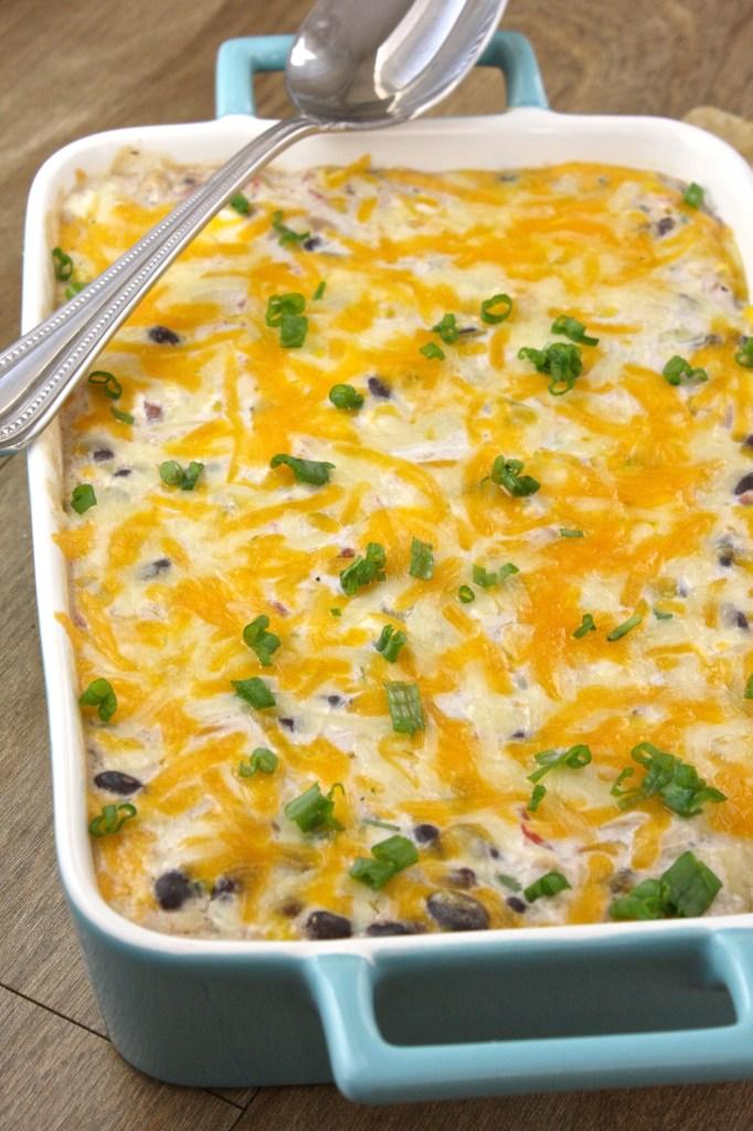 Enchilada Dip -- TheGarlicDiaries.com