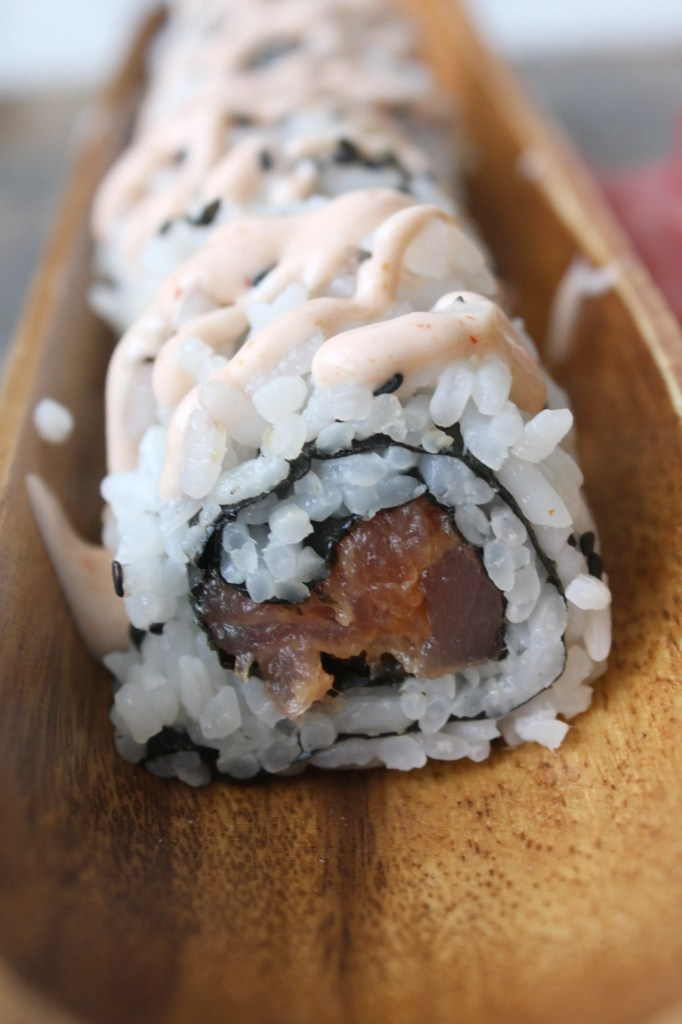 Spicy Tuna Roll -- TheGarlicDiaries.com
