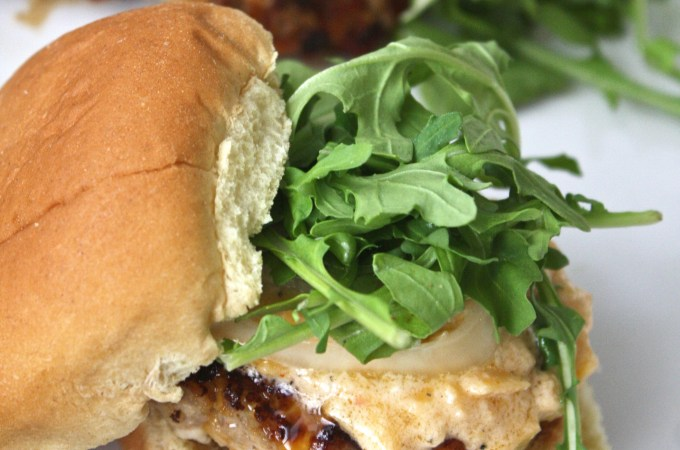 Pimento Cheese Turkey Sliders