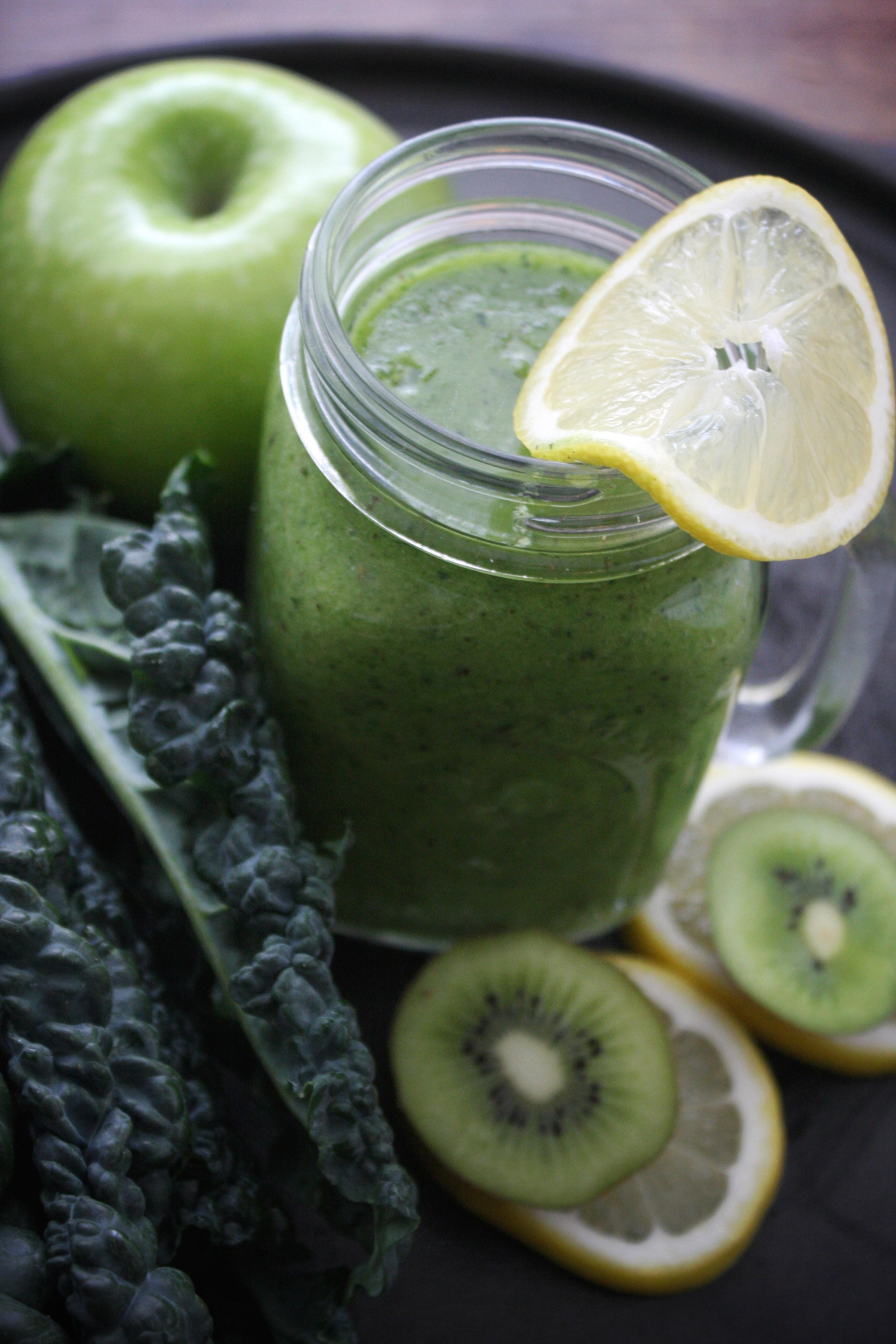 Superfood Green Tea Smoothie