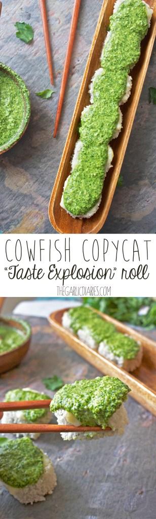 "Cowfish Copycat ""Taste Explosion"" Roll -- TheGarlicDiaries.com"