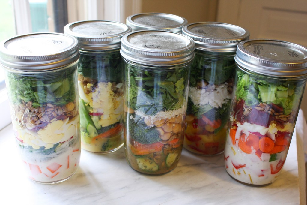 One a Day Project - drink one smoothie and eat one salad every day for a month! -- TheGarlicDiaries.com