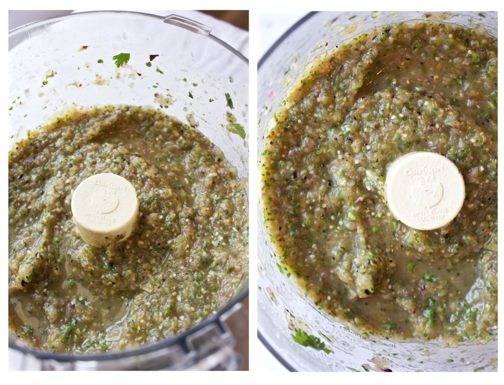 Grilled Salsa Verde - Super easy and simple, but SO tasty and fresh! TheGarlicDiaries.com