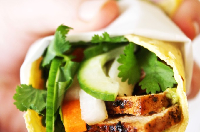 Banh Mi Tacos [21 Day Fix]