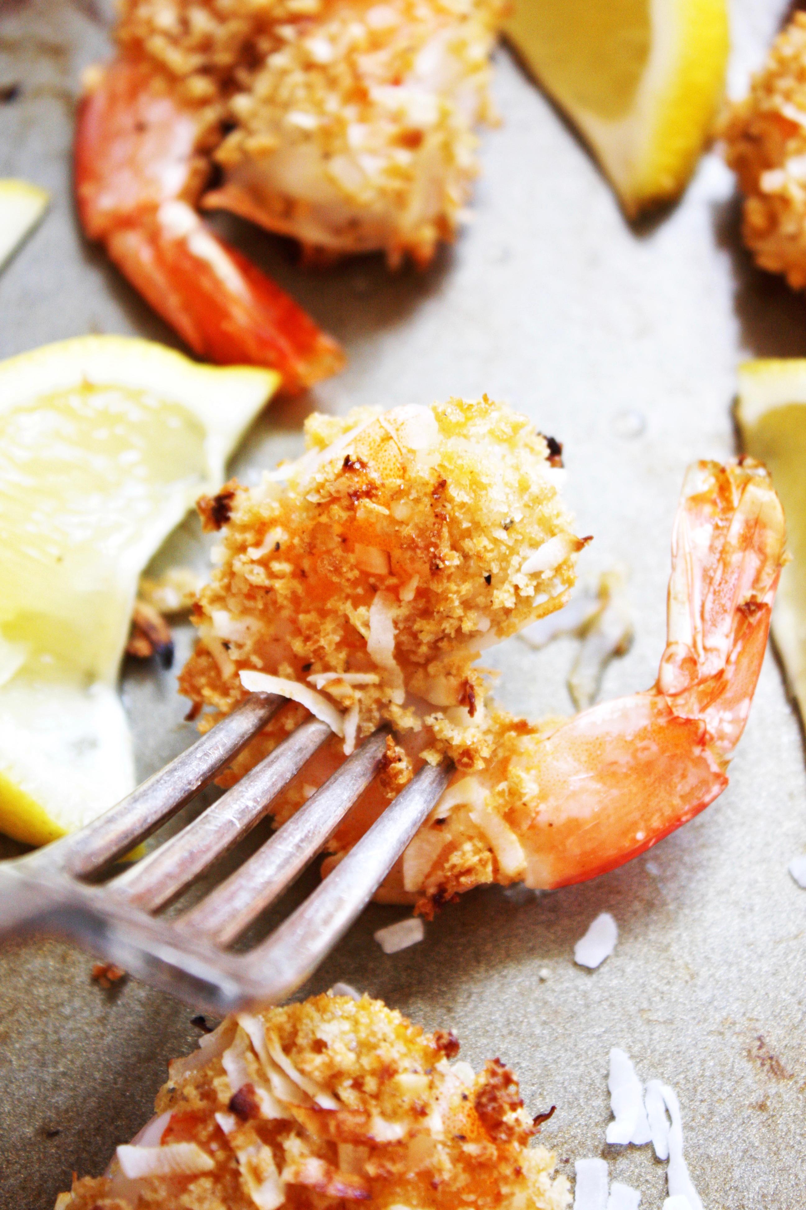Baked Coconut Shrimp 21 Day Fix