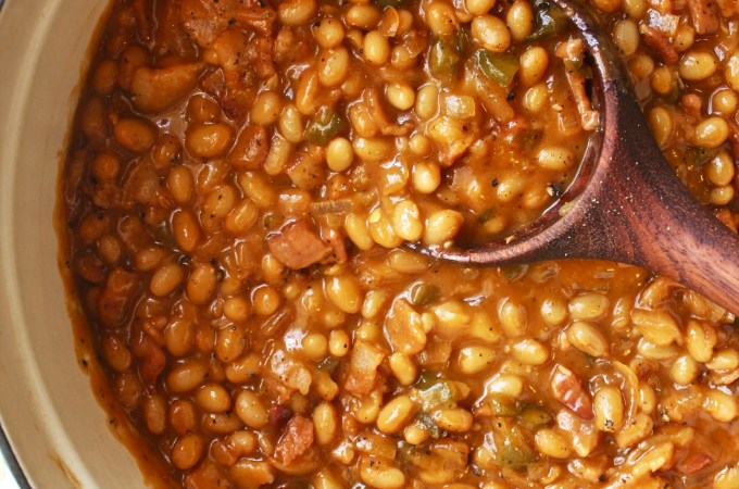 Brown Sugar Maple Baked Beans