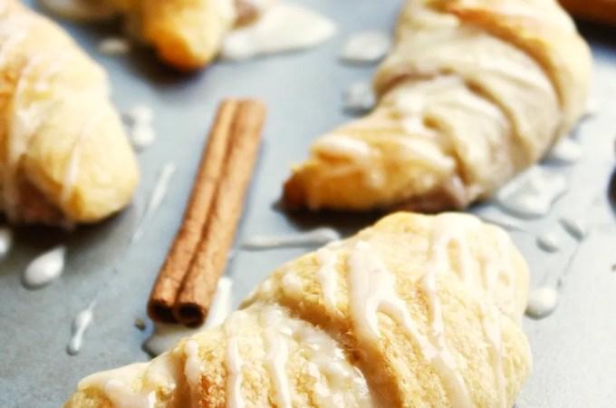 Cinnamon Cheesecake Stuffed Crescent Rolls