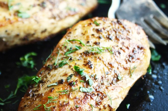 The Trick to THE Juiciest Chicken Breasts