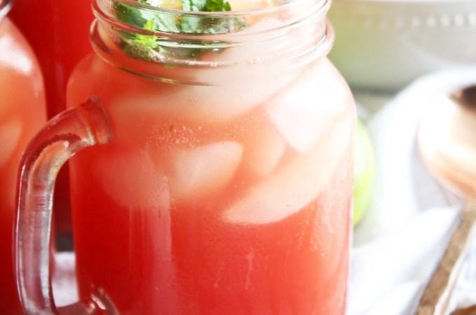 Watermelon Mint Refresher