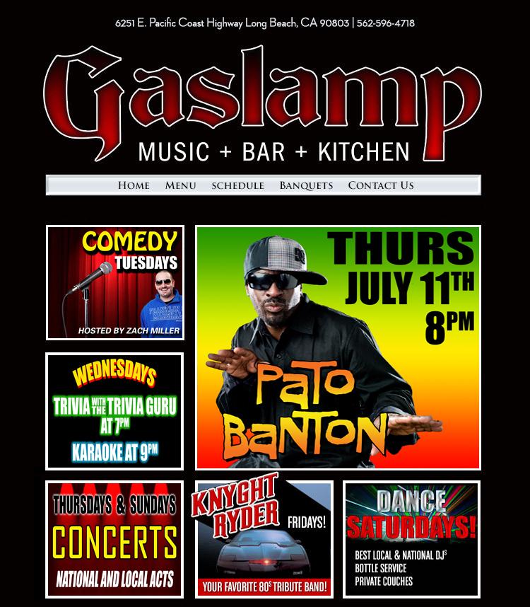 Gaslamp Restaurant & Bar In Long Beach