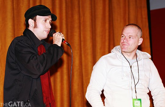 Chris Alexander and Uwe Boll