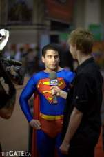 """""""Superman"""" talks to Space"""