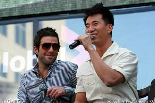 Zachary Quinto and James Kyson Lee