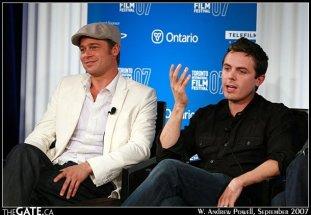 Brad Pitt and Casey Affleck