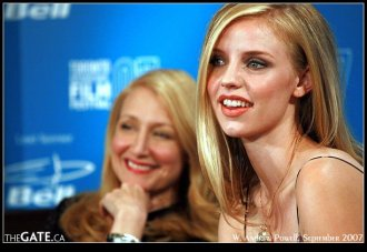 Kelli Garner and Patricia Clarkson