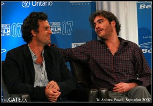 Mark Ruffalo and Joaquin Phoenix