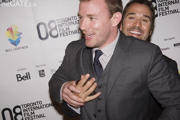 TIFF 08:Guy Ritchie and Jeremy Piven