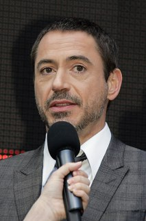 Robert Downey Jr. speaks