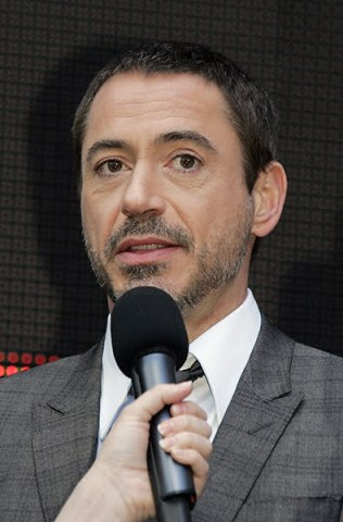 Robert Downey Jr. speaks