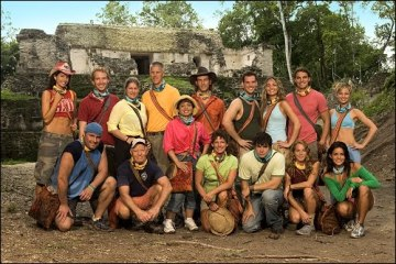 The cast of Survivor: Guatemala
