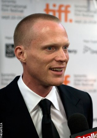 Paul Bettany on the red carpet for Creation