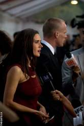 Jennifer Connelly and Paul Bettany get interviewed