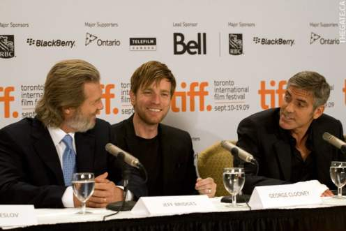 Jeff Bridges, Ewan McGregor, and George Clooney