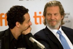 Director Grant Heslov and Jeff Bridges