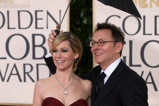 Michael Emerson with Carrie Preston