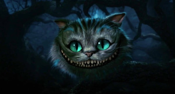 The Cheshire Cat from Disney's Alice In Wonderland