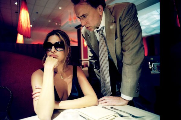 Eva Mendes and Nicolas Cage in Bad Lieutenant: Port of Call New Orleans