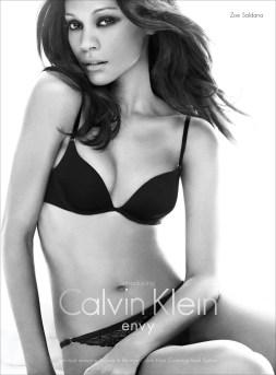 Zoe Saldana for Calvin Klein #3