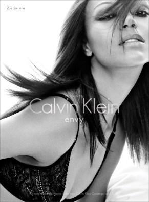 Zoe Saldana for Calvin Klein #2