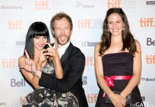 Ksenia Solo, Kris Holden-Ried and Anna Silk from Lost Girl