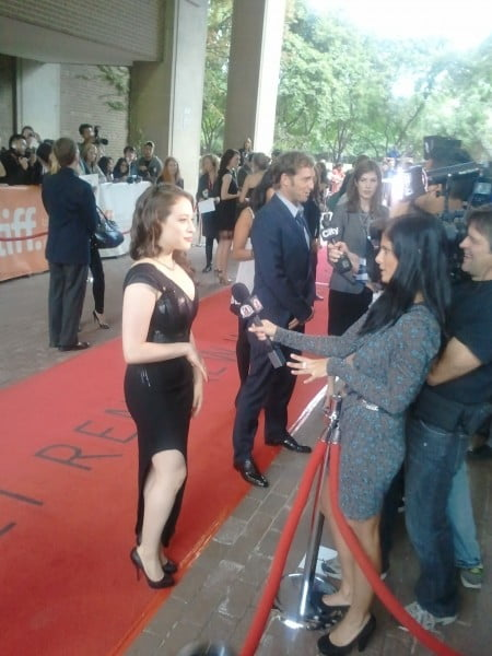 Kat Dennings on the red carpet for Daydream Nation