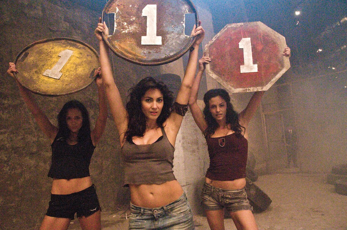 A scene from Death Race 2
