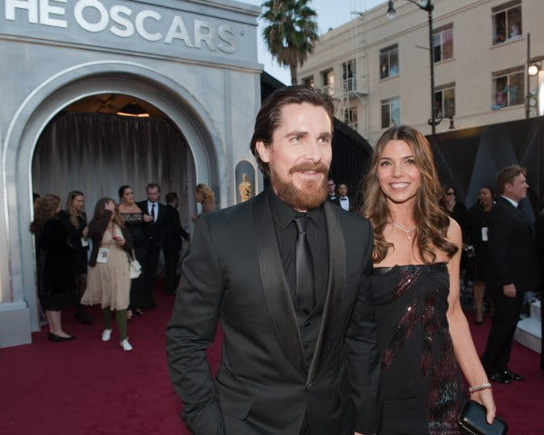 Christian Bale and Sandra Blazic