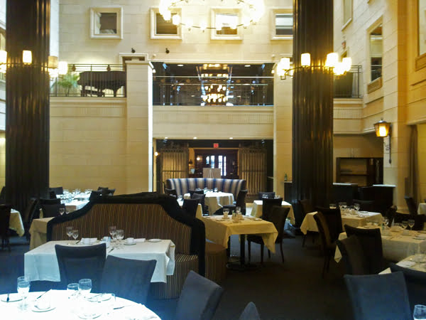 The Courtyard Cafe at the Windsor Arms hotel