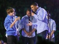 Justin Bieber and Drake (2010)