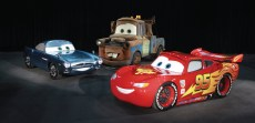 Finn McMissile, Mater and Lightning McQueen