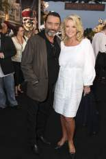 Ian McShane and Gwen Humble