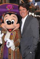 Mickey Mouse and Rob Marshall