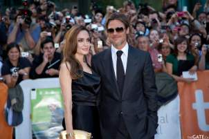 Angelina Jolie and Brad Pitt #3