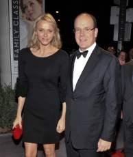 Prince Albert II and Princess Charlène