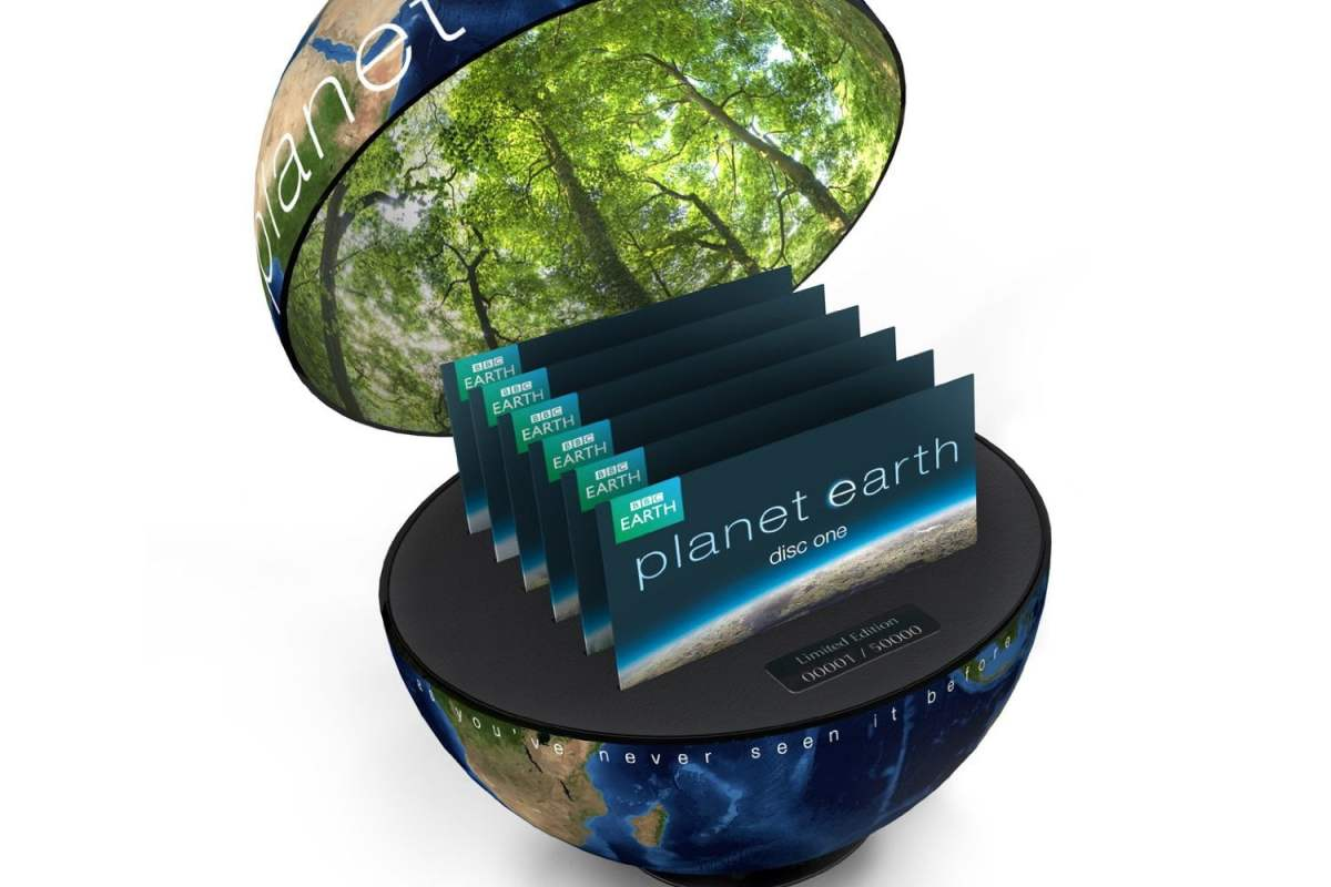 Planet Earth Limited Edition on Blu-Ray