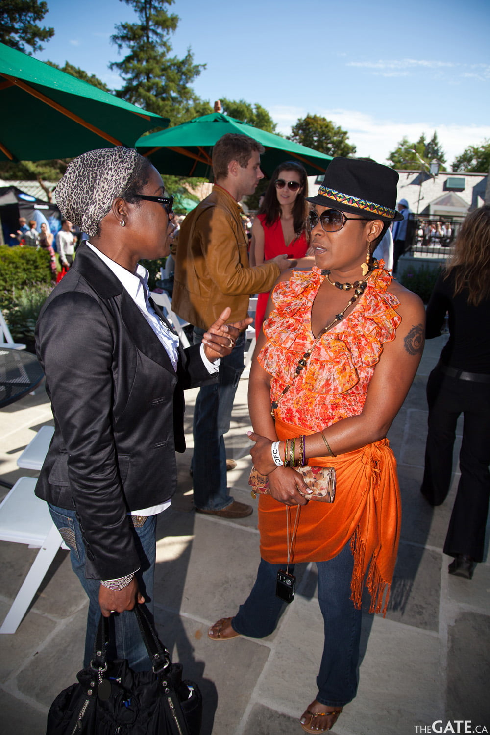 Patricia Scarlett and Sharon Marley